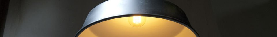 Material Details Black Factory suspension light