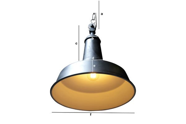 Product Dimensions Black Factory suspension light