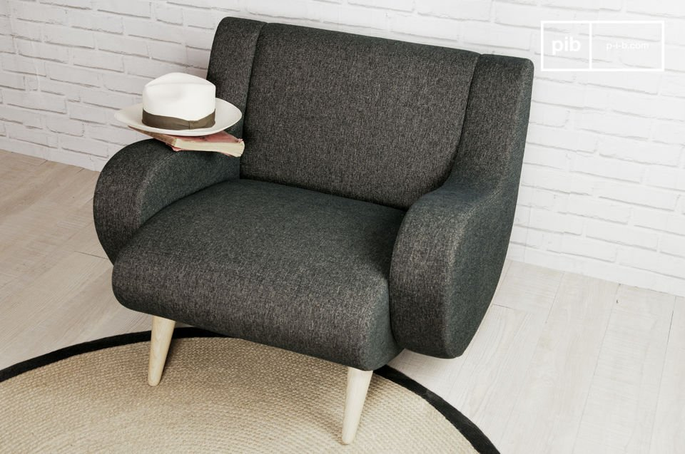 Opt for a stylish armchair