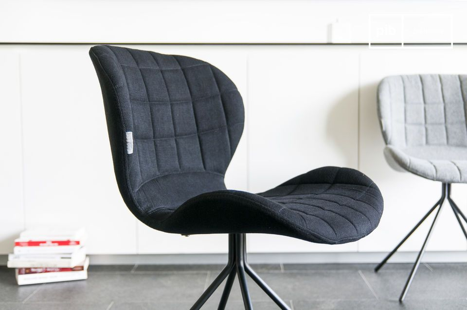 The chair Hetsik is the perfect combination of flawless comfort for long sitting hours and elegant