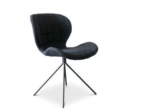 Black Hetsik chair Clipped
