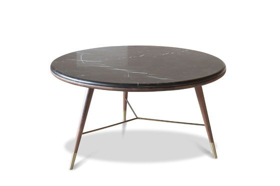 Black marble Coffee table Sivärt Clipped