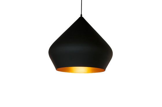 Black pendant lamp Liselotte Clipped