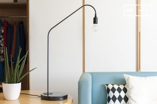 Black table lamp Mogens