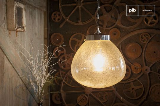 Blown Glass Pendant lamp Bangor