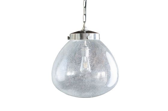 Blown Glass Pendant lamp Bangor Clipped