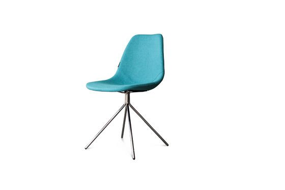 Blue Piramis Chair Clipped