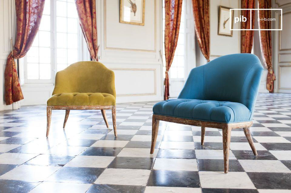 Blue Popador chair
