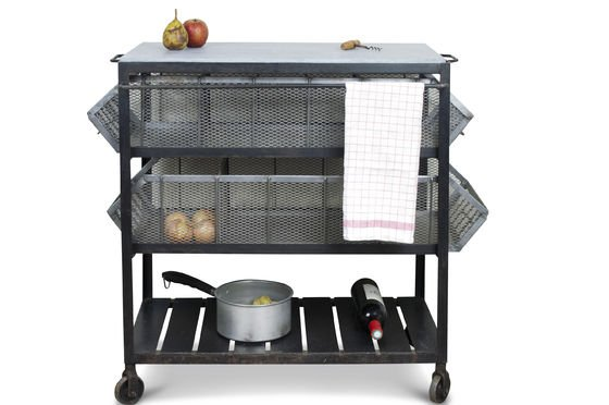 Bluestone kitchen storage cart Clipped