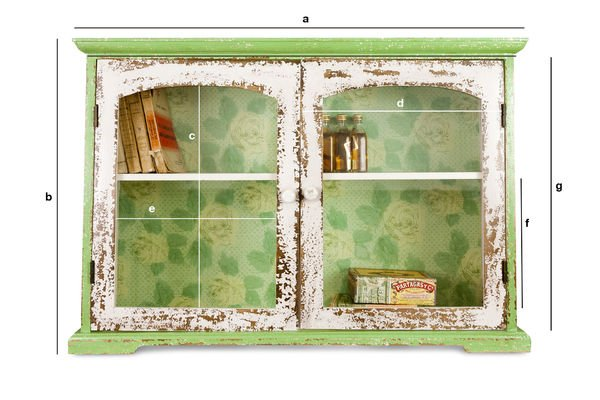 Product Dimensions Boho wall cabinet