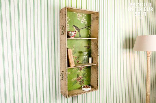Boho wall shelves