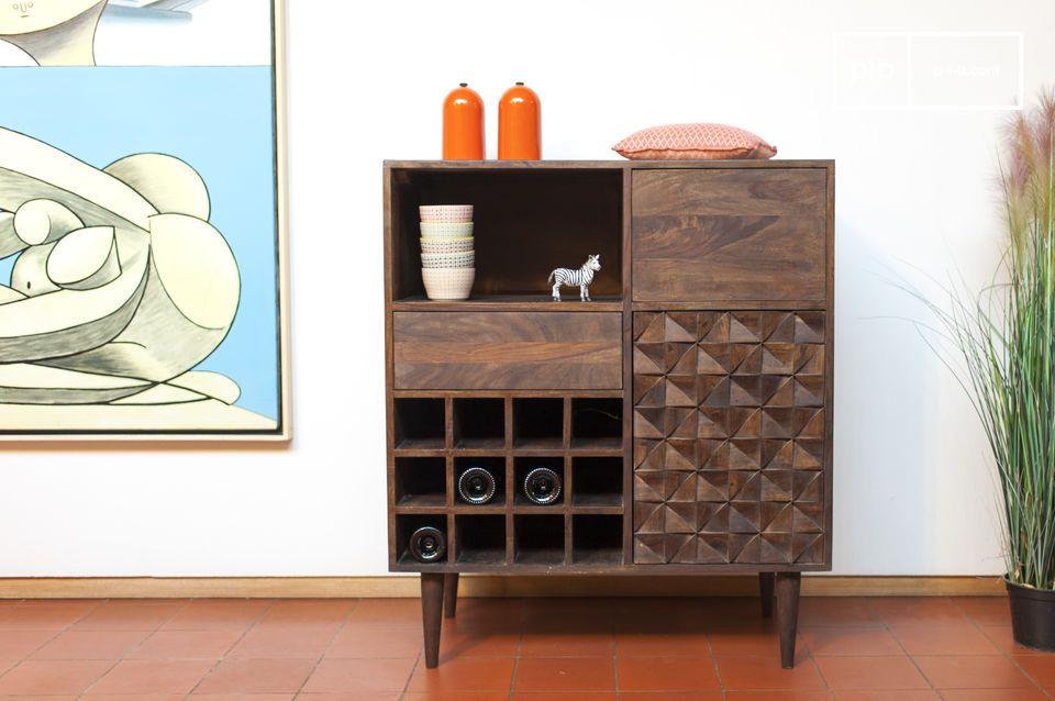 Bottle cabinet Balkis