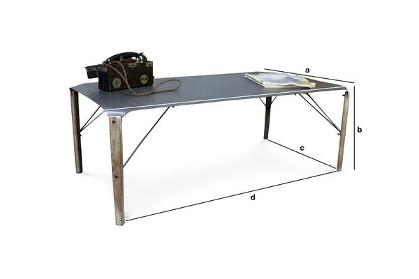Product Dimensions Bow boffee table