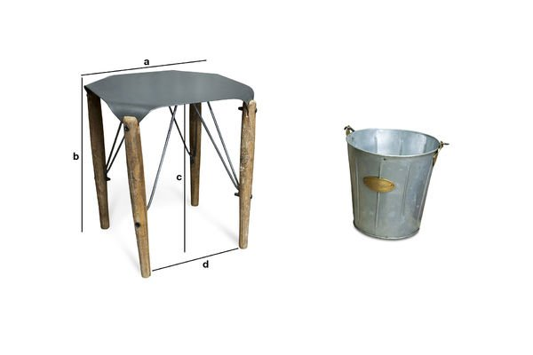 Product Dimensions Bow stool