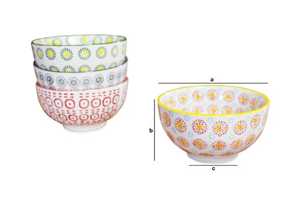 Product Dimensions Bowls Julia