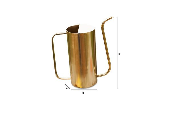 Product Dimensions Brass jug Sterling