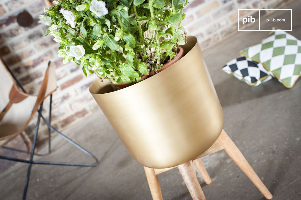 A decorative and trendy object to display your plants