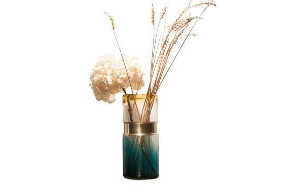Brassbelt Glass Vase Clipped