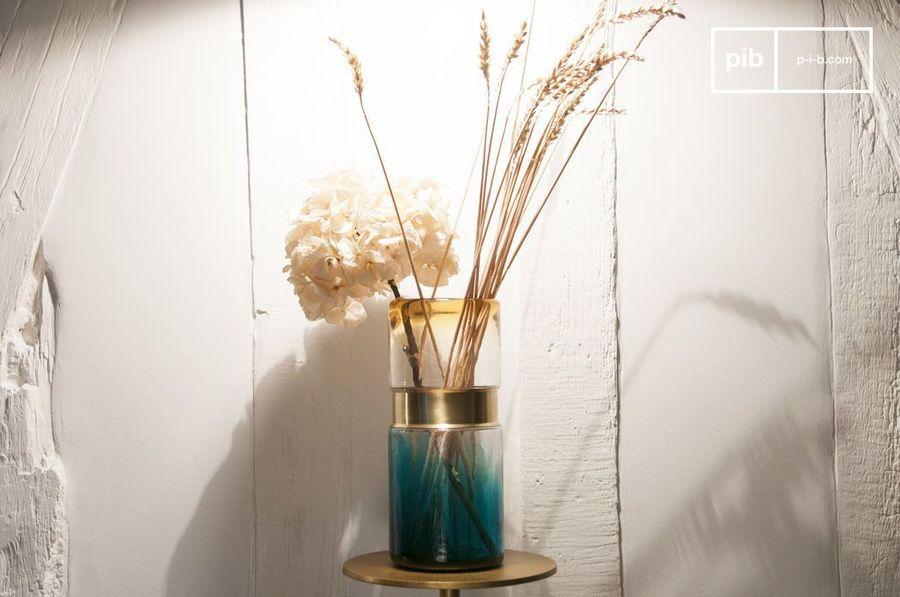 Brassbelt Glass Vase