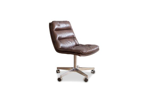 Breunor leather office chair Clipped