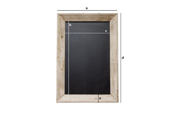 Product Dimensions Brewery blackboard 122x83cm