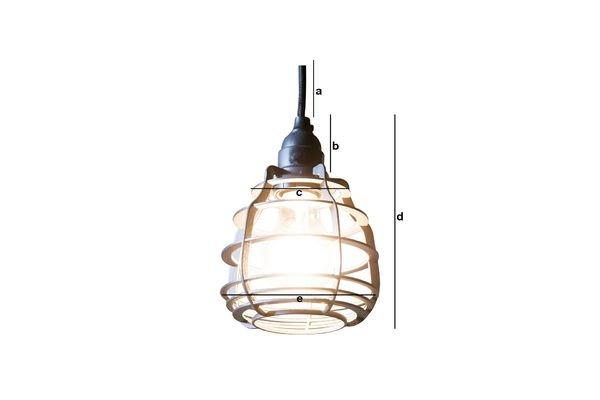 Product Dimensions Bristol pendant lamp