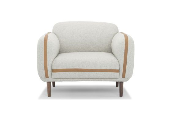 Britta wool armchair Clipped