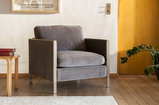 Brompton Velvet Armchair