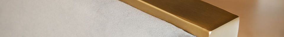 Material Details Brompton Velvet Armchair
