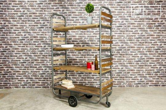 Brooklyn mobile shelf