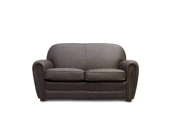 Brown Cigar club sofa Clipped