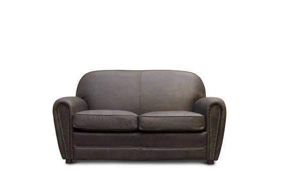 Brown Cigar club sofa Clipped