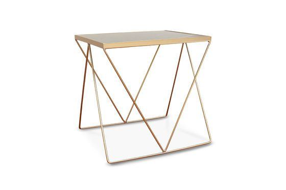 Bumcello golden side table Clipped