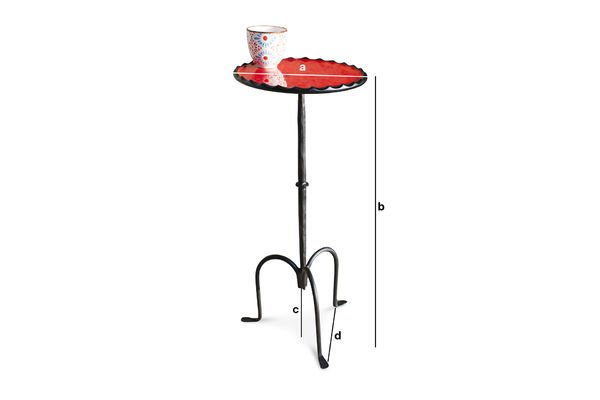 Product Dimensions Cadix little table