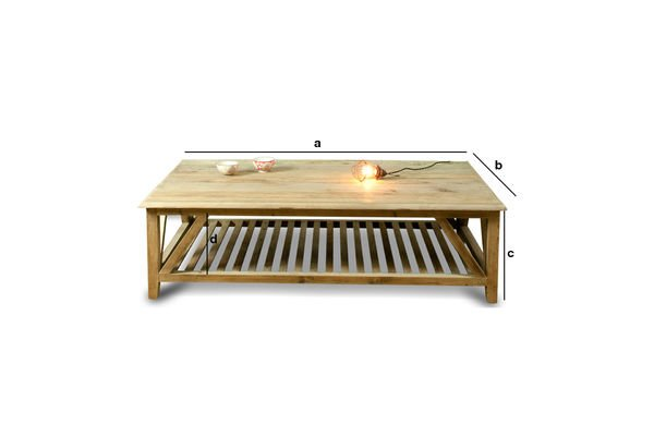 Product Dimensions Cadynam coffee table
