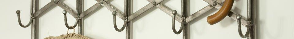 Material Details Café de Paris coat rack