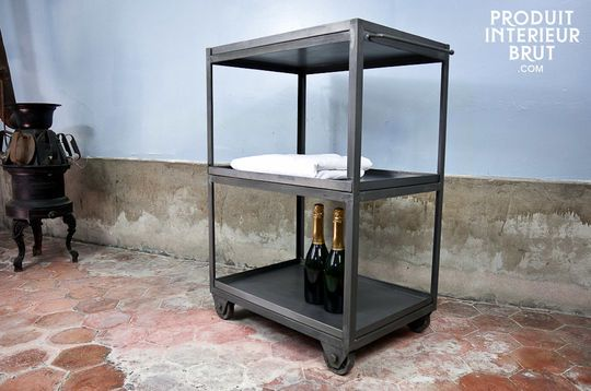 Cafe style kitchen trolley