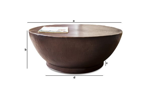 Product Dimensions Calaba coffee table