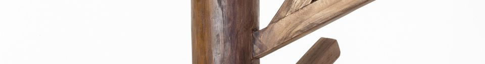 Material Details Camille wooden coat rack