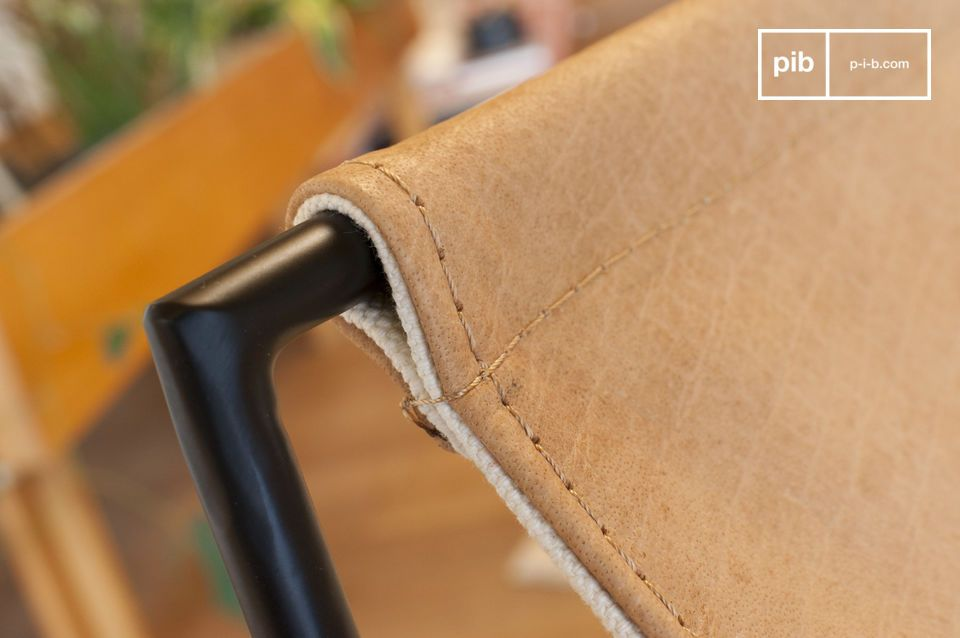 A chair that combines comfort