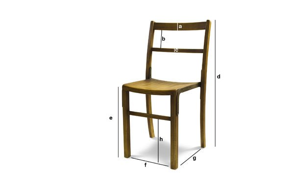 Product Dimensions Chair Abbesses