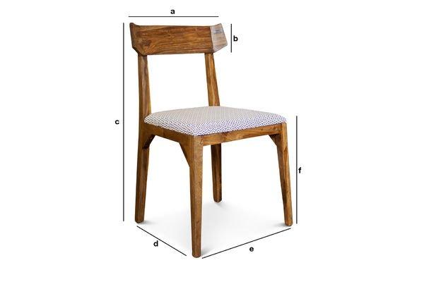 Product Dimensions Chair Elsa