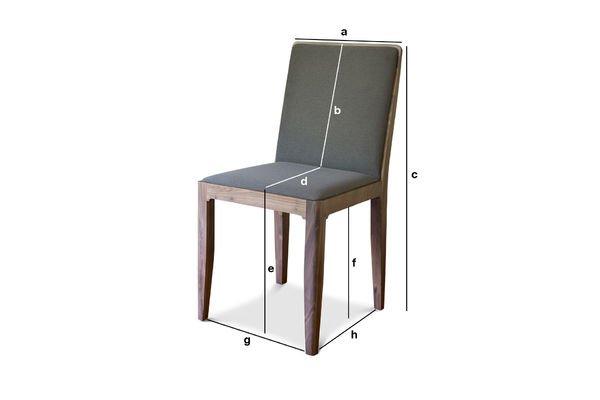 Product Dimensions Chair Hemët