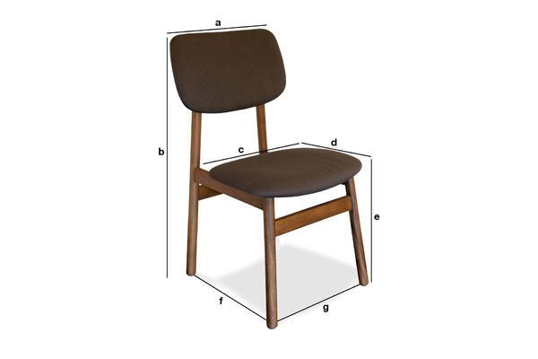 Product Dimensions Chair Larssön