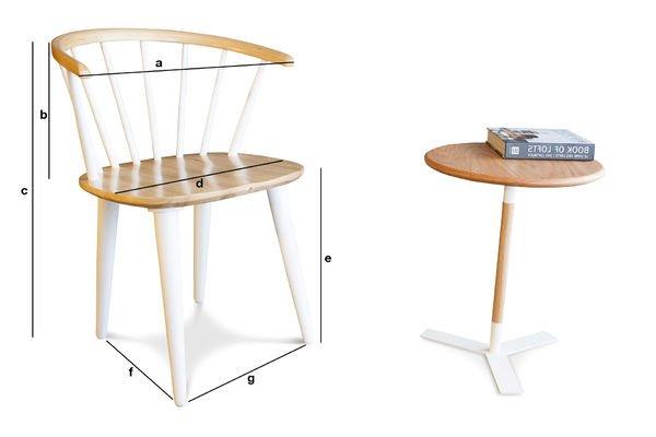 Product Dimensions Chair Lidingö