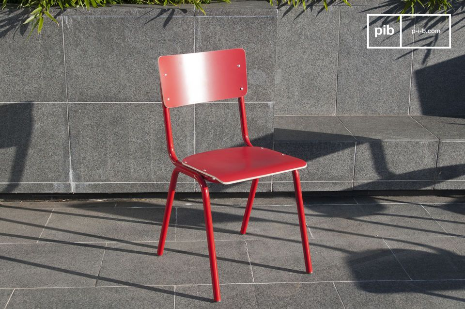 Chair Skole Red
