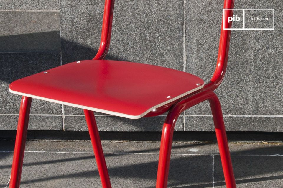 Chair Skole Red - 1