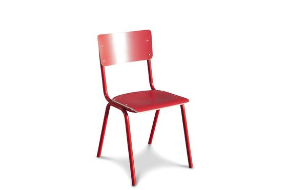 Chair Skole Red Clipped