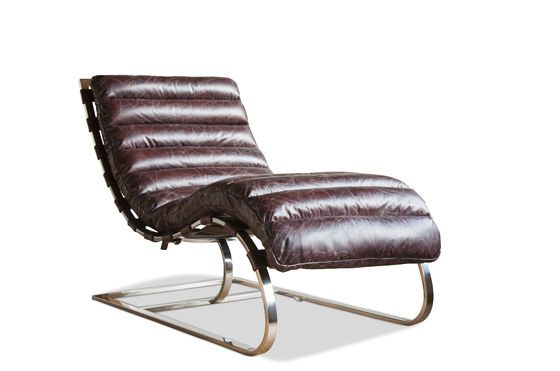 Chaise longue Weimar Clipped