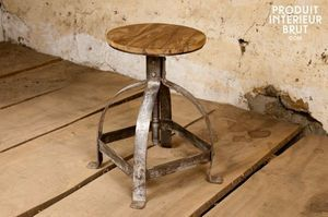 vintage chairs tabouret